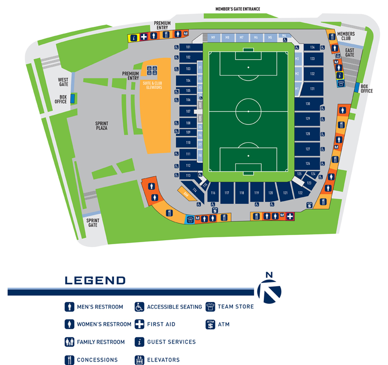 LSP Concourse Map